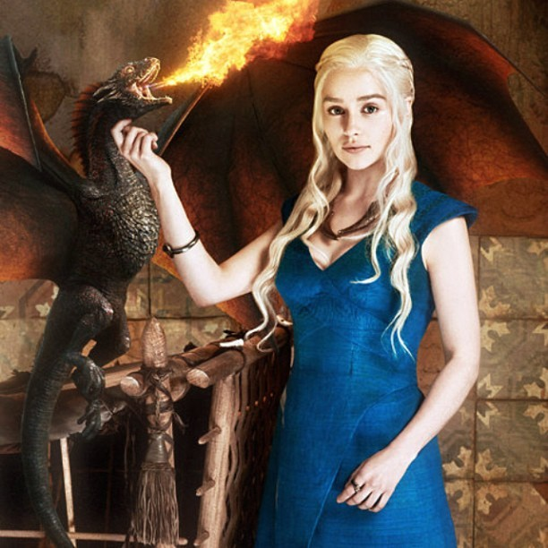 My beautiful, beautiful Dany. <3 #gameofthrones #winteriscoming #khaleesi