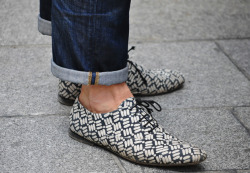 mrburberry-fox:  thetieguy:  sick shoe game.  Dope.