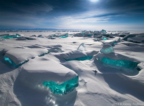 Snow Jewels  Ice expedition in North Baikal, Russia, A.Trofimov and N.Demina, 2013.