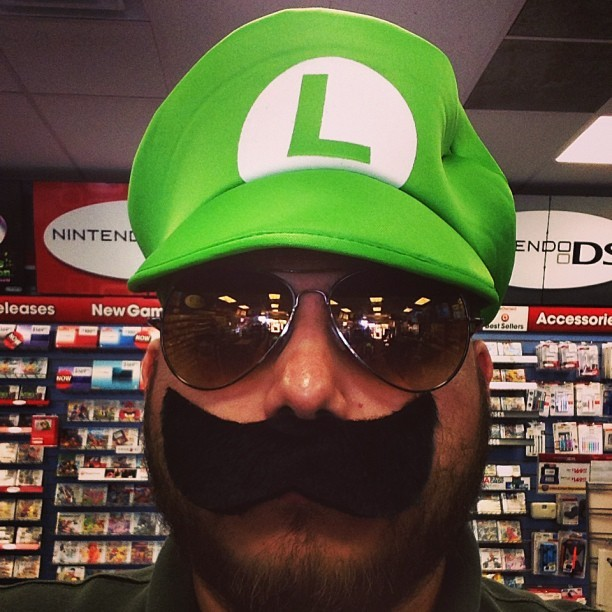 Officer Luigi is on the case!