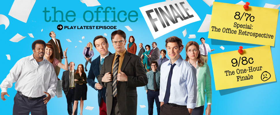 theofficenbc:  ONE FINAL EPISODE TO GO. REBLOG if you're going to miss The Office!  :(((