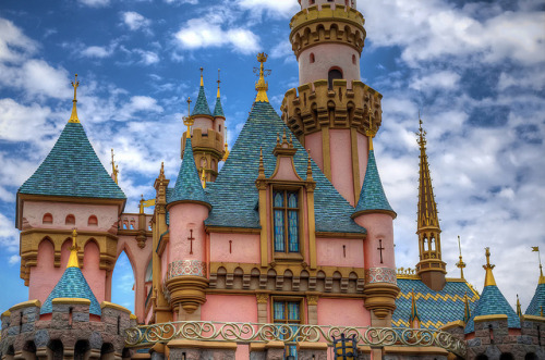 A Cloudy Day at Sleeping Beauty Castle by Tours Departing Daily on Flickr.