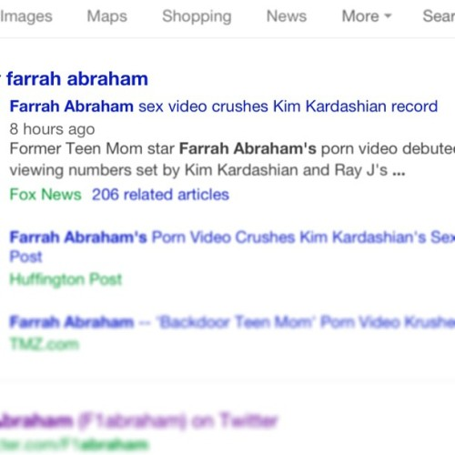 You go girl !! #farrahabraham