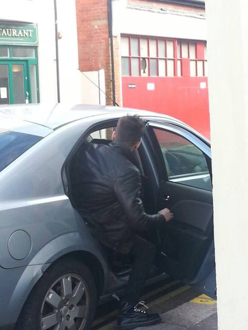 Zayn today! (CRED TO SOPHIE H ON FACEBOOK)