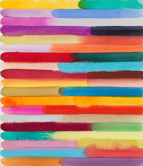likeafieldmouse:  Martin Creed - Work No. 1367 (2012) - Watercolor on paper