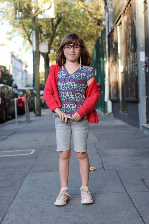 "humansofnewyork:  ""I want to be a clothing designer."" ""What's the hardest part about designing clothes?"" ""Designing them."" (San Francisco, CA)  Damn straight!!!"