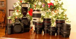 A Canon Christmas. What'd you get?