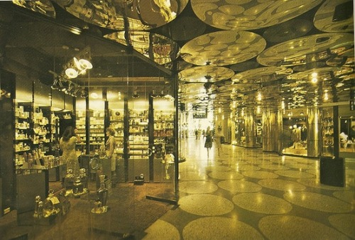 superseventies:  Centrepoint Shopping Arcade interior, Sydney, 1976.