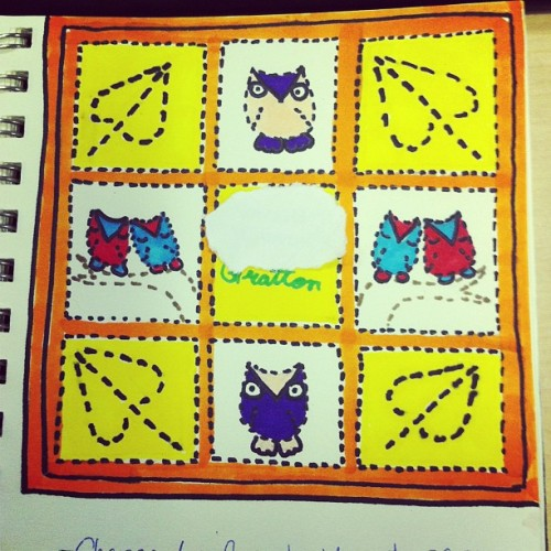A pattern for a baby quilt I may make someday when I have a baby
