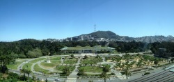 webuiltthiscity:  Sutro and the California Academy of Sciences from the de Young observation deck