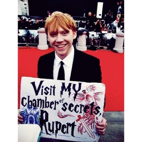 Double tap if you love #rupertgrint #swag #newyorkcity
