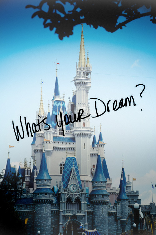 disneyprincessdreams:  To work for the mouse one day<3