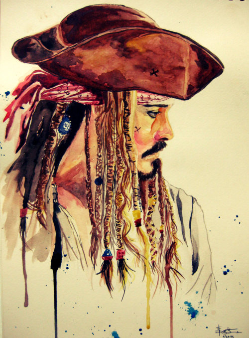 theundeadavenger:  Tribute to Jack Sparrow by ~BudsLightyear