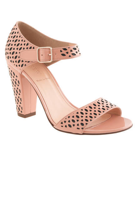 Cute take on the nude heel…