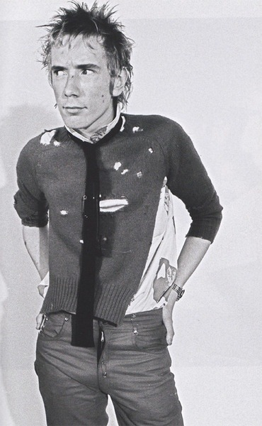 rocknrollhighskool:  It's The Sex Pistols' Johnny Rotten…or Mr Lydon to you!