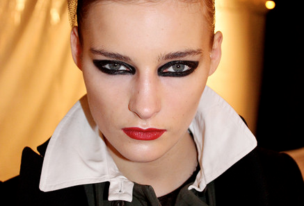 RUNWAY: Backstage with Yadim at the Jen Kao Fall / Winter 2013 show.