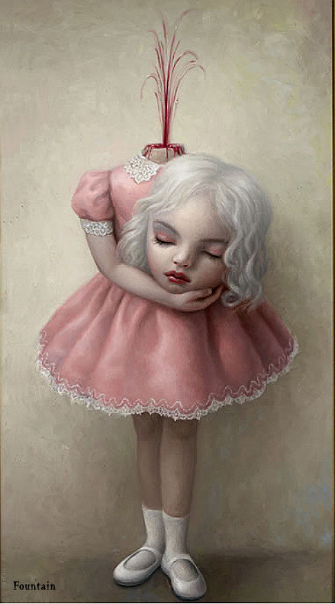 thegregorythomas:  the fountain by Mark Ryden