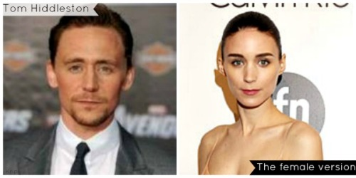I've just noticed something. If Tom Hiddleston was a woman, this is what he'd look like. I vote to name her Lady Hiddleston. Now if you have a better name…