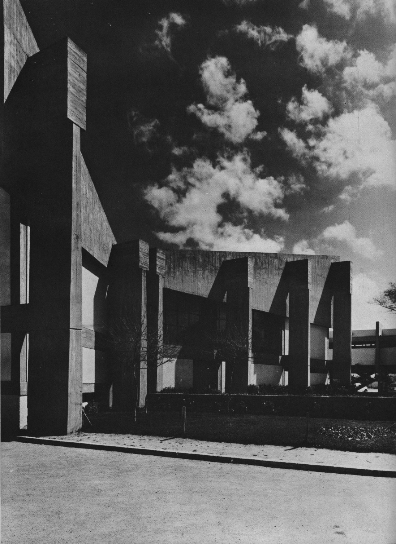 Civic Center, Rabat, Morocco, 1967 (Elie Azagury)