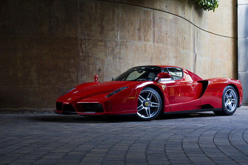 carpr0n:  Lost princess Starring: Ferrari Enzo (by Pere Nubiola)