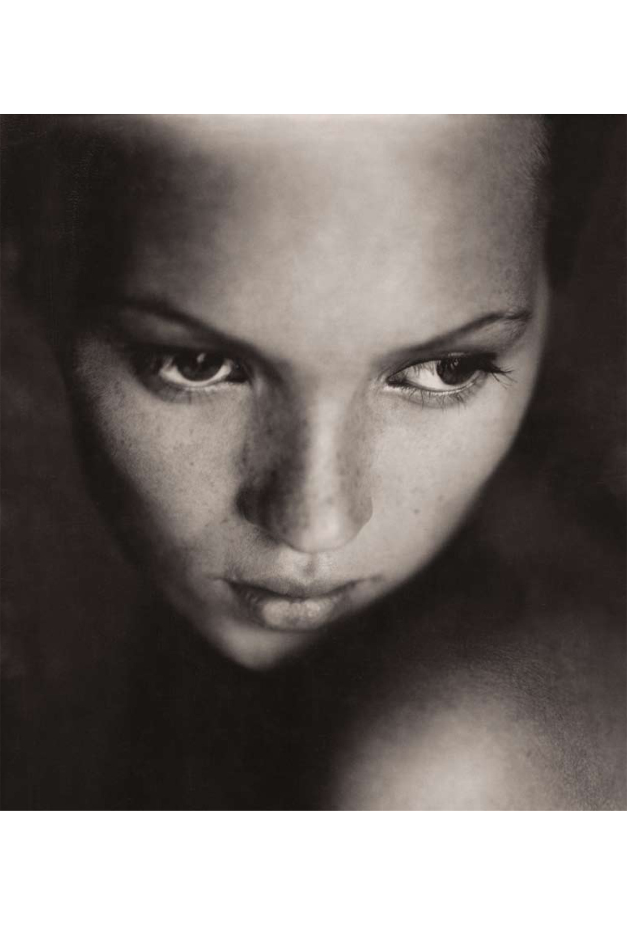 Kate Moss photographed by Paolo Roversi in 1993