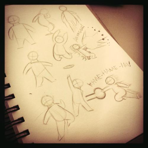 Dynamic pose studies!