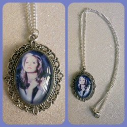 Buffy The Vampire Slayer Cameo Necklace https://www.etsy.com/shop/CalamityJayneDesigns