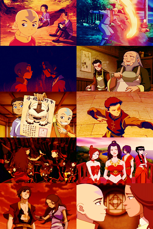 sky-stealer:   Ten TV Shows: [3/10] Avatar: The Last Airbender