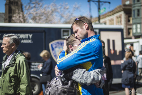 daveyangphoto:  Part of my photo set from two days after the Marathon Bombings in Boston - 4-17-13