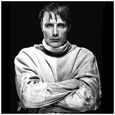 retroadv:  Mads Mikkelsen - Photographed by Kenneth Willardt Photographic Collection 6 […more Images]  HANNIBAL