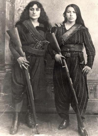 sisterwolf:  Amazons of the Caucasus, in 1895. (photo taken in Western Armenia) via