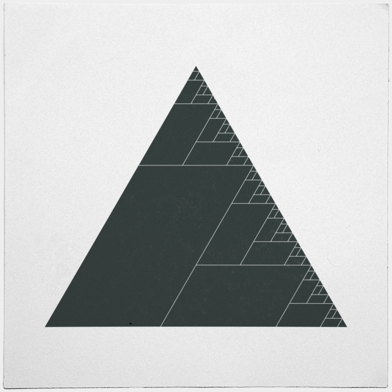 geometrydaily:  #399 Ashes of the triangle – A new minimal geometric composition each day