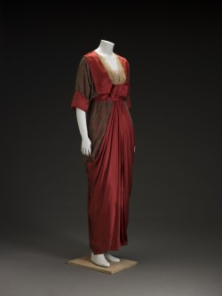 historicalfashion:  Silk Dress (American) | IMA | 1910s