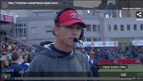 NFL.com Video: Mark Trestman named Chicago Bears head coach
