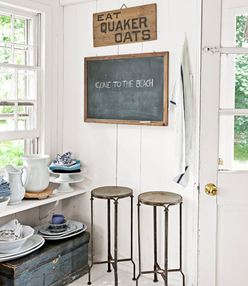 vintage blackboards are love (passiondecor-de-marieclaude)