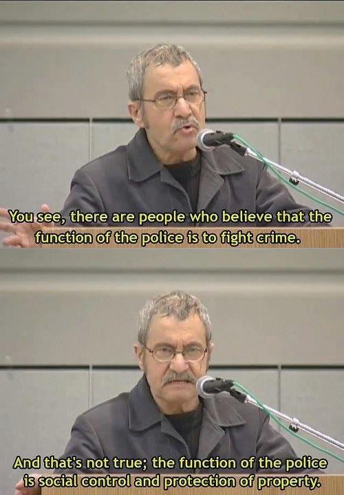 deathspraises:  Michael Parenti on Police