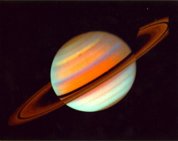 "astrodidact:  Saturn's Naturally Occurring Radio Signal —New Insights Researchers working with data from NASA's Cassini spacecraft have discovered one way the bubble of charged particles around Saturn — known as the magnetosphere — changes with the planet's seasons. The finding provides an important clue for solving a riddle about the planet's naturally occurring radio signal. The results might also help scientists better understand variations in Earth's magnetosphere and Van Allen radiation belts, which affect a variety of activities at Earth, ranging from space flight safety to satellite and cell phone communications. In data collected by Cassini from July 2004 to December 2011, the team  examined ""flux tubes,"" structures composed of hot, electrically charged gas called plasma, which funnel charged particles in towards Saturn. Focusing on the tubes when they initially formed and before they had a chance to dissipate under the influence of the magnetosphere, the scientists found that the occurrence of the tubes correlates with radio wave patterns in the northern and southern hemisphere depending upon the season. This seasonal effect is roughly similar to the way Earth's northern lights appear more frequently in the spring and autumn months. Radio emissions have been used to measure Jupiter's rotation period reliably, and scientists thought it would also help them determine Saturn's rotation period. To their chagrin, however, the pattern has varied over the visits by different spacecraft and even in radio emissions originating in the northern and southern hemispheres. The new results could help scientists hone in on why these signals vary the way they do. http://www.dailygalaxy.com/my_weblog/2013/05/saturns-naturally-occurring-radio-signal-new-insights.html"