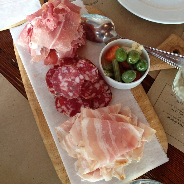 Salumi @ Salumeria 104Via Foodspotting