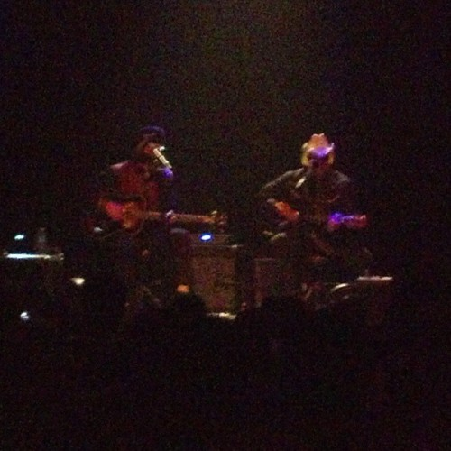 Led Claypool's Duo de Twang … … . This is happening (at Gramercy Theatre)