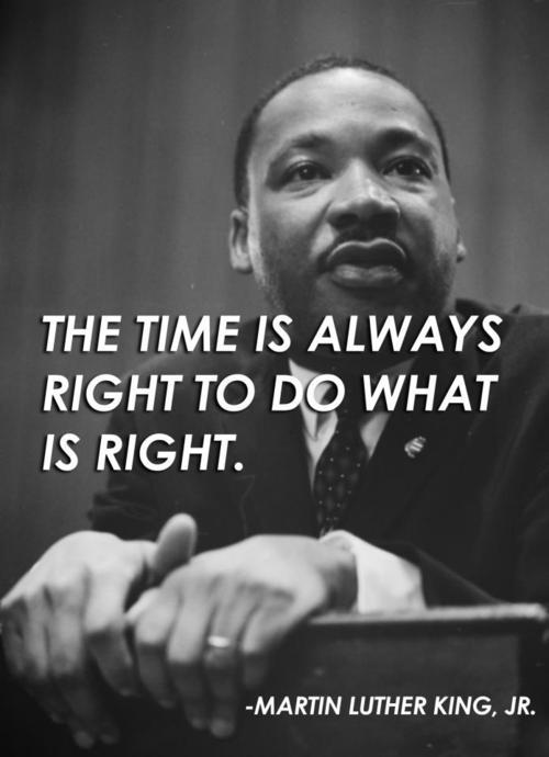 Remembering a great man in history today #MLK
