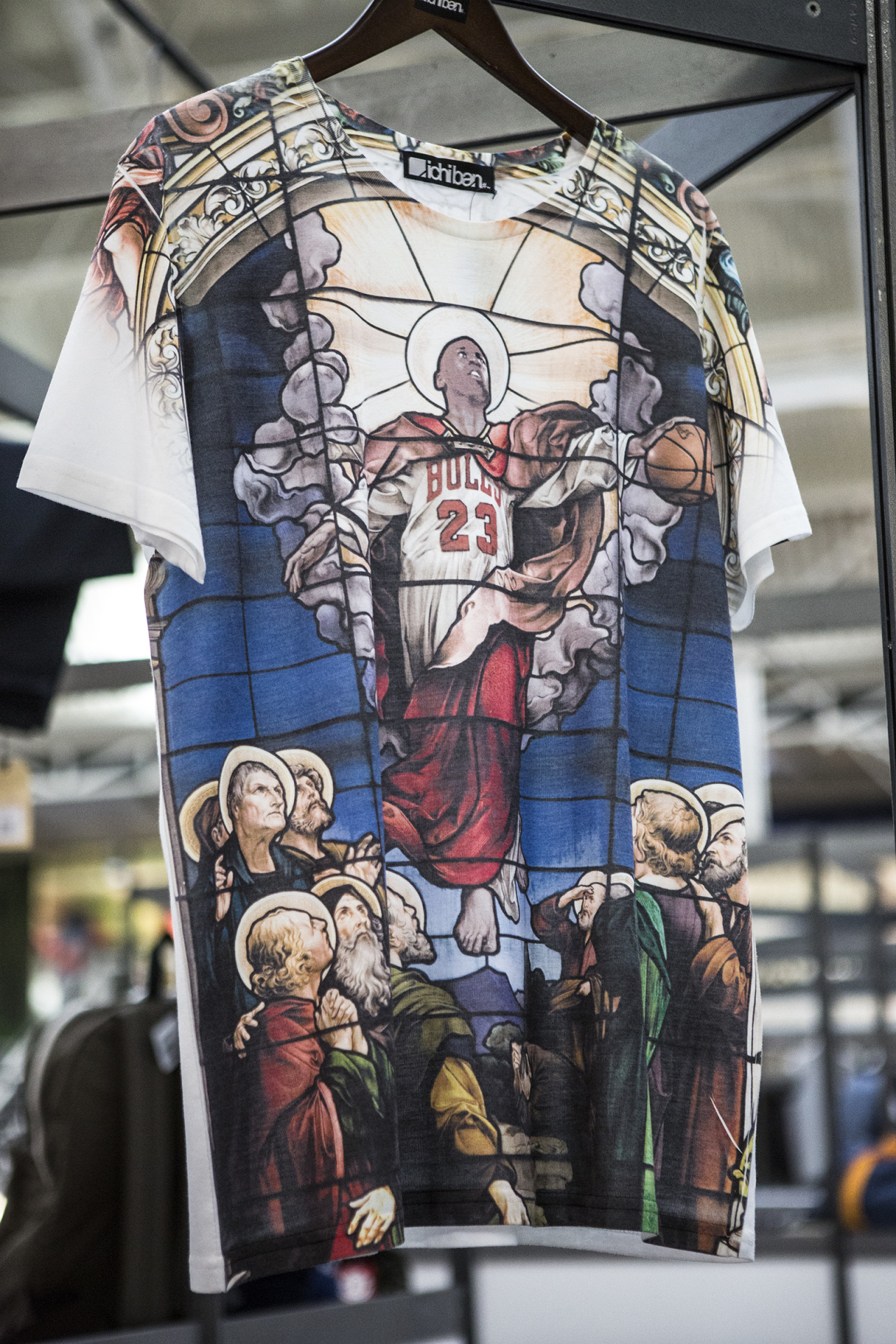 nbaoffseason:  The greatest Michael Jordan t-shirt ever 'created'.