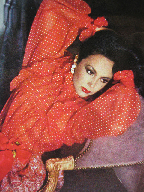 Marie Helvin Vogue March 1977 by Sew Something Vintage on Flickr.