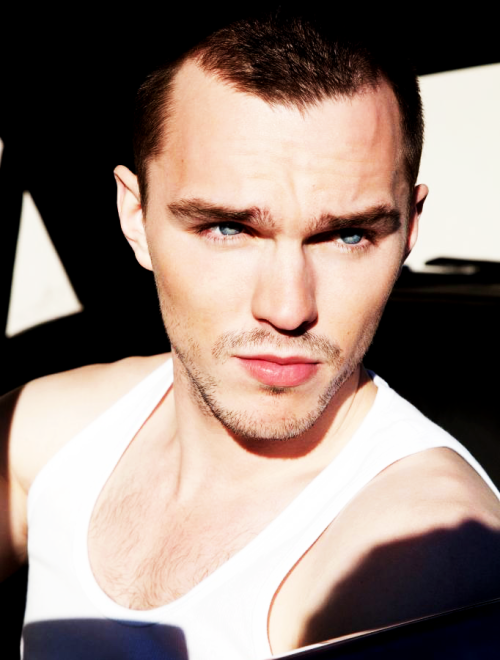 Nicholas Hoult photographed by Thomas Giddings for Flaunt Magazine, May 2013