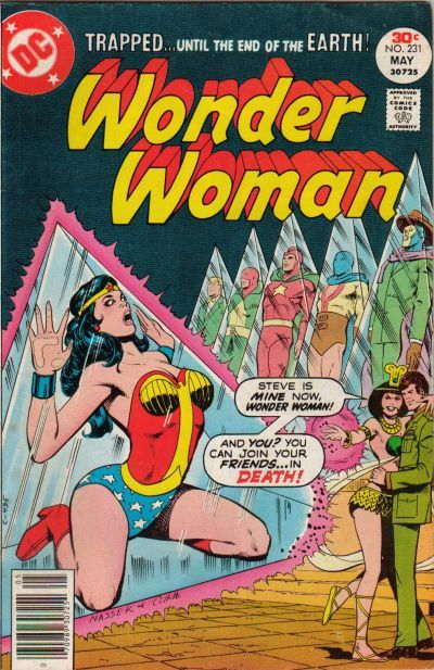 70scomiccovers:  Wonder Woman 231, May 1977