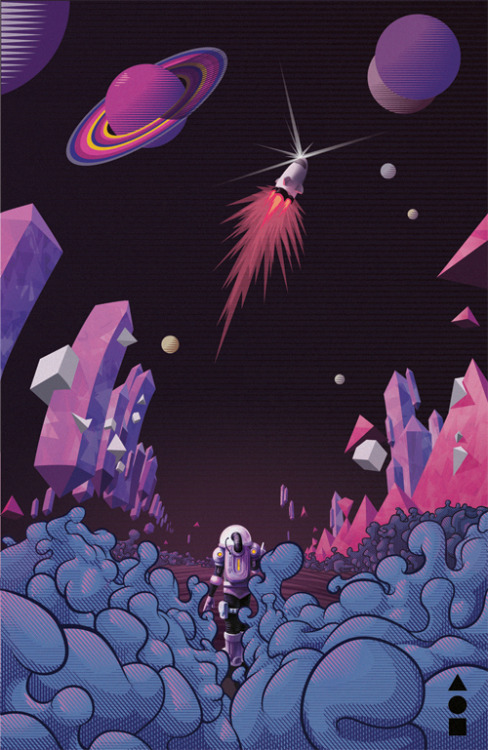 My contribution to Gooo Magazine. Cosmos was the theme of this number.