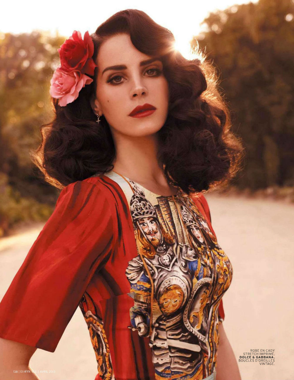coldwinterbreeze:  Lana Del Rey by Nicole Nodland for L'Officiel Paris April 2013      I don't know who this is, but she's beautiful.