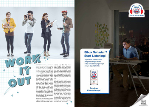 Bear Brand Advetorial Freemagz Editorial Magazine Advertising Jakarta