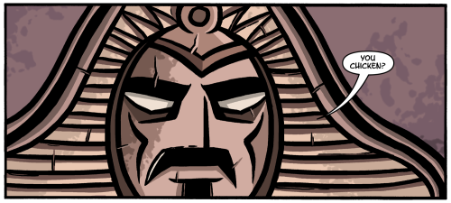 Here's a little peak into the next Ninjasaur storyline. Two words. Zappa. Mummy. http://ninjasaur.com/
