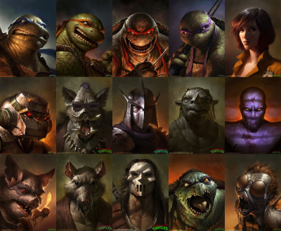 these are the real TMNT in my mind!