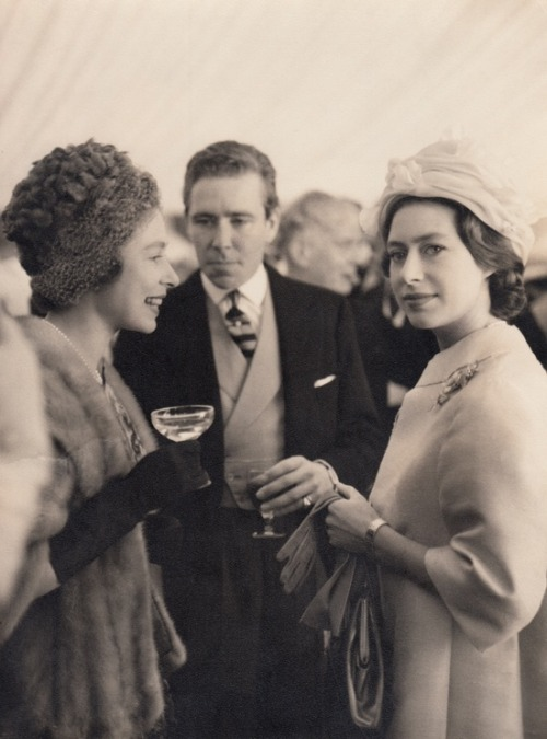 houseofwindsor:  Queen Elizabeth II, Princess Margaret and Lord Snowdon
